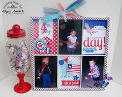 Printers Tray Photo Collage by Tya Smith