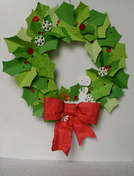 Doodlebug's North Pole Wreath by Sherry Cartwright