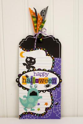 Happy Halloween by Tiffany Hood