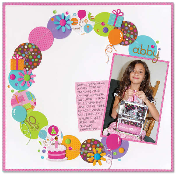 Cake & Ice Cream Collection from Doodlebug