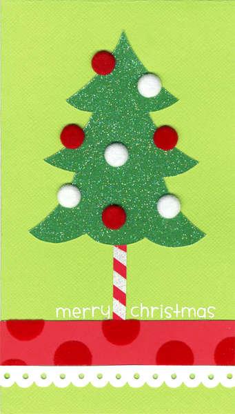 Simple Christmas Tree Card