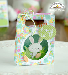Easter Shadowbox Gift Card Bag