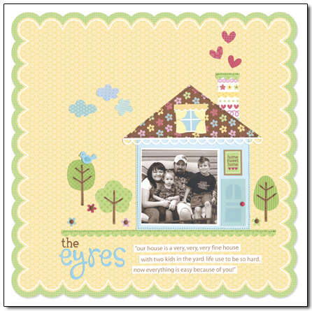 Welcome Home Collection from Doodlebug Design