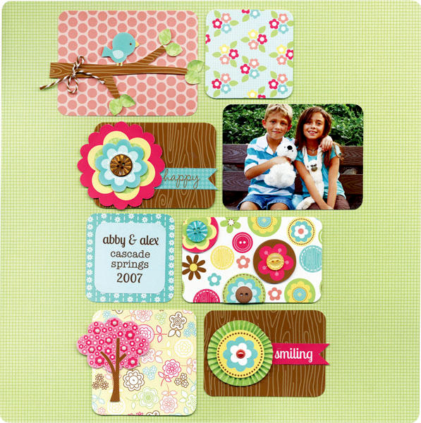 New Flower Box Collection from Doodlebug Design