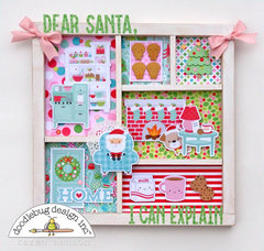 Dear Santa Printer Tray Display