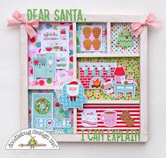 Dear Santa Printer Tray Display
