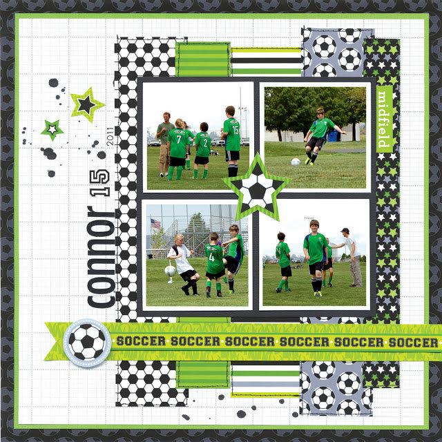GOOOOOAAAALLLLL!! featuring the Goal Collection from Doodlebug Design