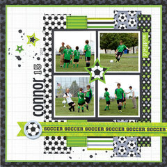 GOOOOOAAAALLLLL!! featuring the Goal Collection from Doodlebug Design