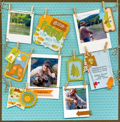 Happy Camper Collection from Doodlebug Design