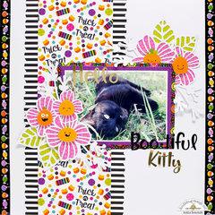 BOOtiful Kitty Layout