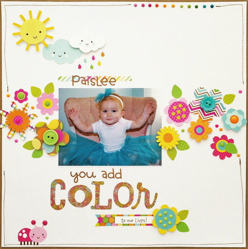 Introducing Hello Sunshine Collection from Doodlebug Designs