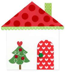 Holiday House Card