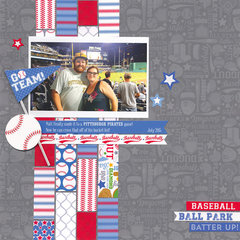 GO TEAM!! featuring the Home Run Collection from Doodlebug Designs