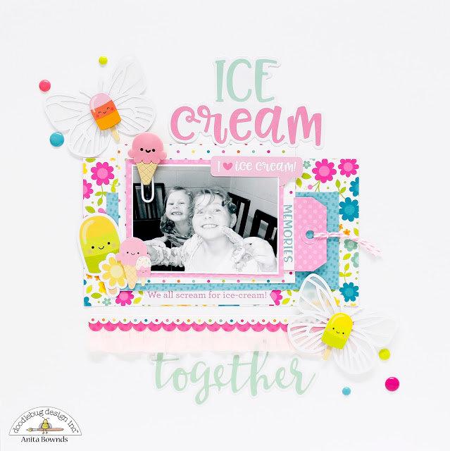 Ice-Cream Layout