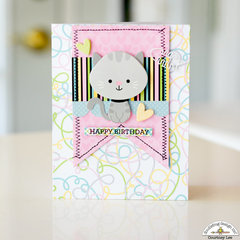 Birthday Card - Kitten Smitten