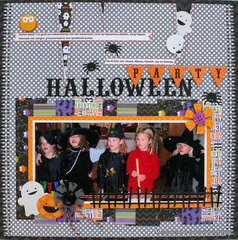 Halloween Party by Monique Liedtke featuring the Haunted Manor Collection from Doodlebug