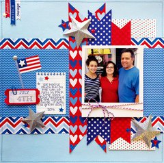 New Patriotic Picnic from Doodlebug Design