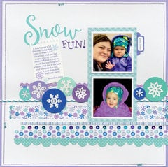 Winter/Snow fun with Polar Pals from Doodlebug