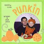 Spooky Little Punkin