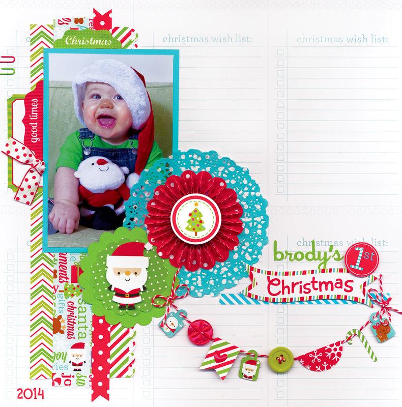 Santa Express Collection from Doodlebug Design