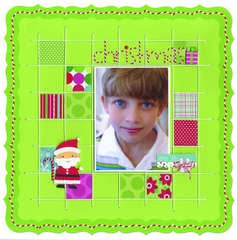 Christmas featuring Santa's Workshop Collection from Doodlebug