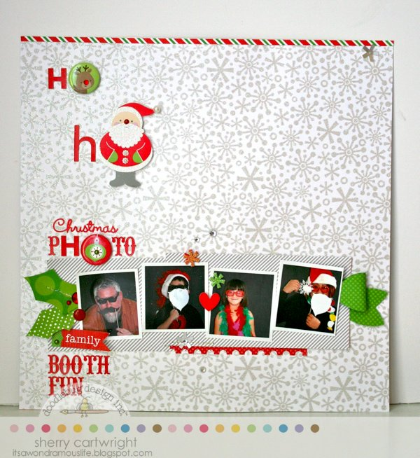 Christmas Photo Booth by Sherry Cartwright