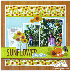 Sunflower Smiles Layout