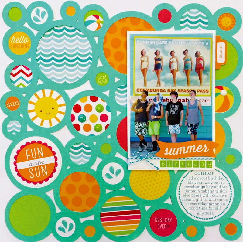 Sun Kissed Collection from Doodlebug Design