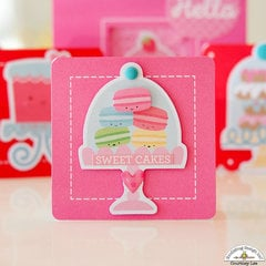 Sweet Cakes Card with Cream and Sugar!