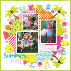 Summer Fun Layout