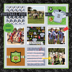 ARE YOU READY FOR SOME FOOTBALL!!!!!Featuring the new Touchdown Collection from Doodlebug