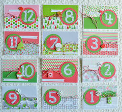 Christmas Countdown Calendar by Wendy Sue