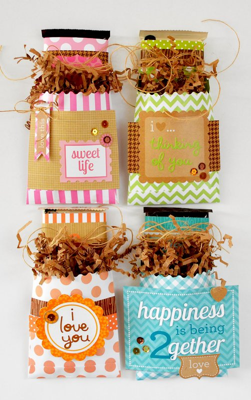 Candy Bar Wrappers by Wendy Sue Anderson