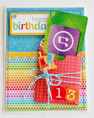 iTunes Birthday Card by Wendy Sue Anderson