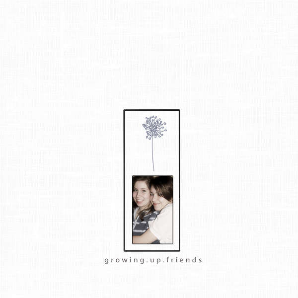 Growing up friends