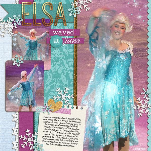 Elsa Waved at Juno