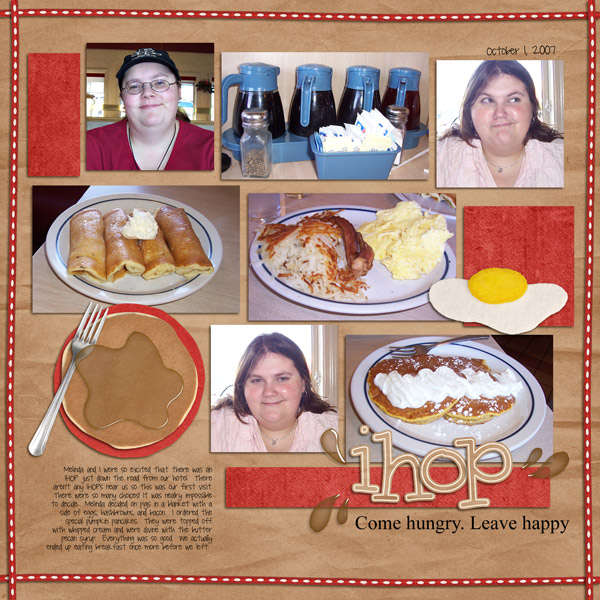 IHOP - Come hungry. Leave happy
