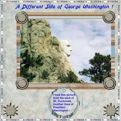 A Different Side of George Washington!!