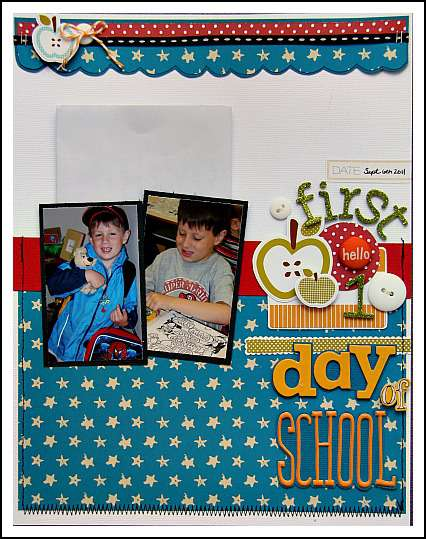 Fist Day of School **American Crafts**