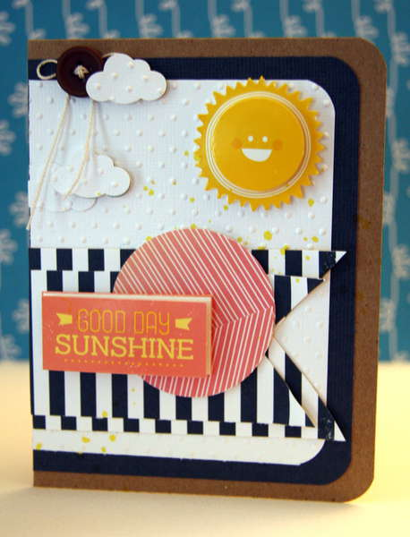Good Day Sunshine Card **AMerican Crafts**