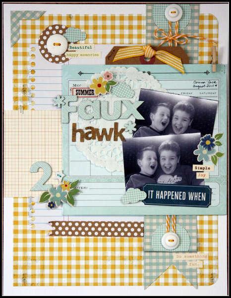 Faux Hawk