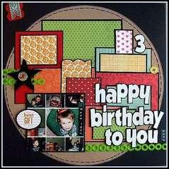 happy birthday to you **Mixer #7**