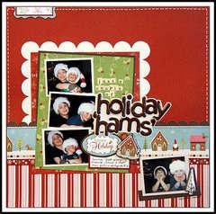 Holiday Hams **New Imaginisce Cottage Christmas**