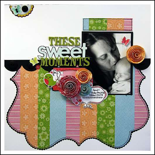 Sweet Moments **Imaginisce Roly Rosies***