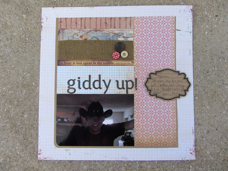 """""""giddy up!"""""""