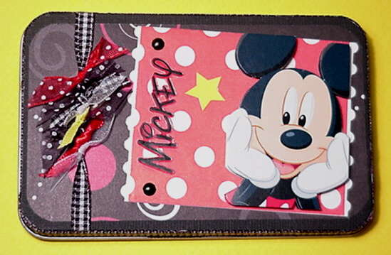 Mickey Mouse Altered Tin
