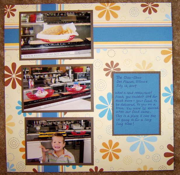 The Choo Choo Restaurant Page 2
