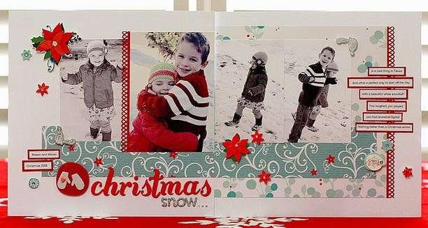 ***Christmas Snow*** Inspired Blueprints