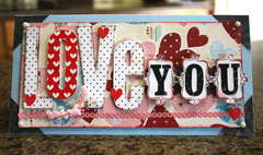 *LOVE YOU* card
