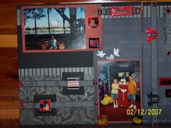 Disney Left Page